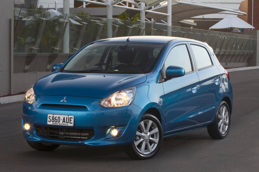 2014 Chevrolet Spark Vs. 2014 Mitsubishi Mirage