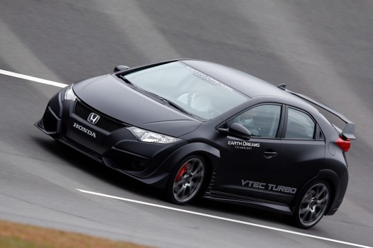 the 2015 honda civic type r uses an earth dreams engine. Black Bedroom Furniture Sets. Home Design Ideas