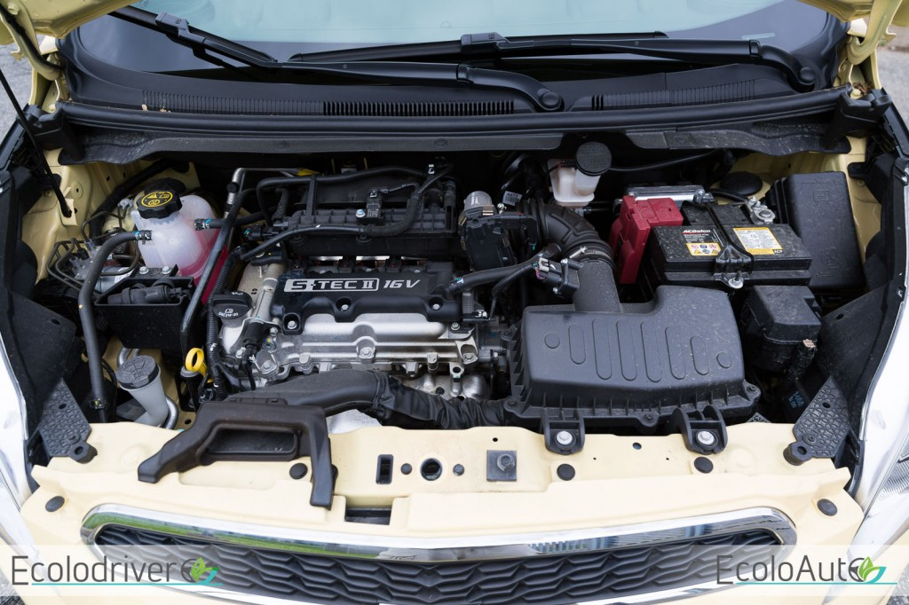 2014 Chevrolet Spark engine view