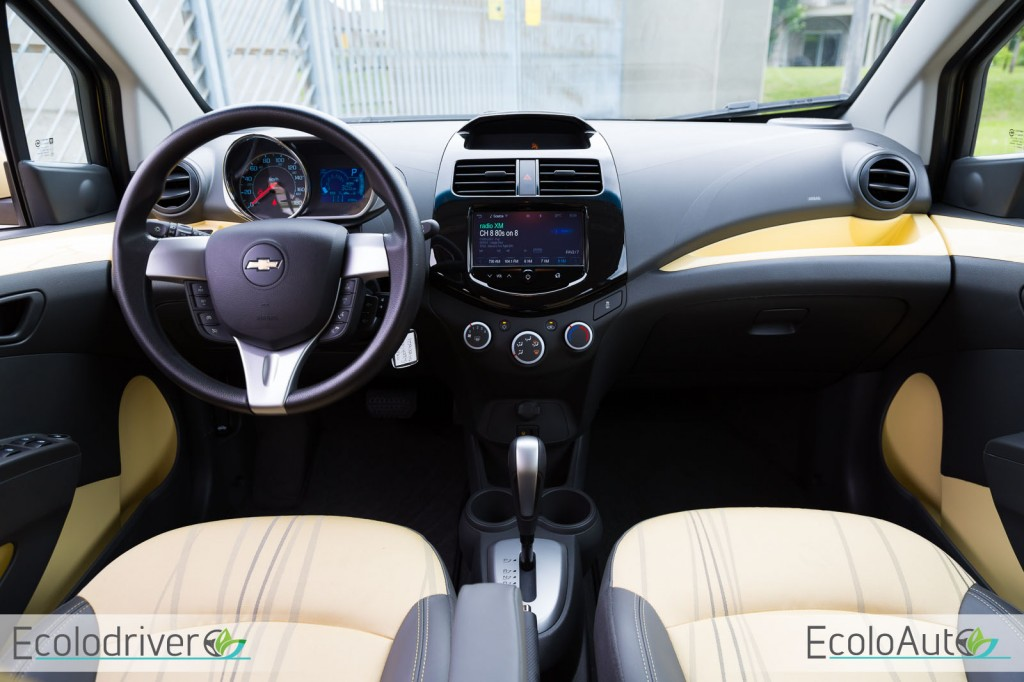 2014 Chevrolet Spark cockpit view