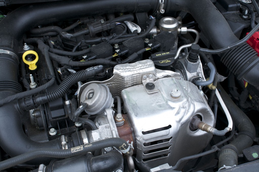 2014 Ford Fiesta 1.0L EcoBoost engine