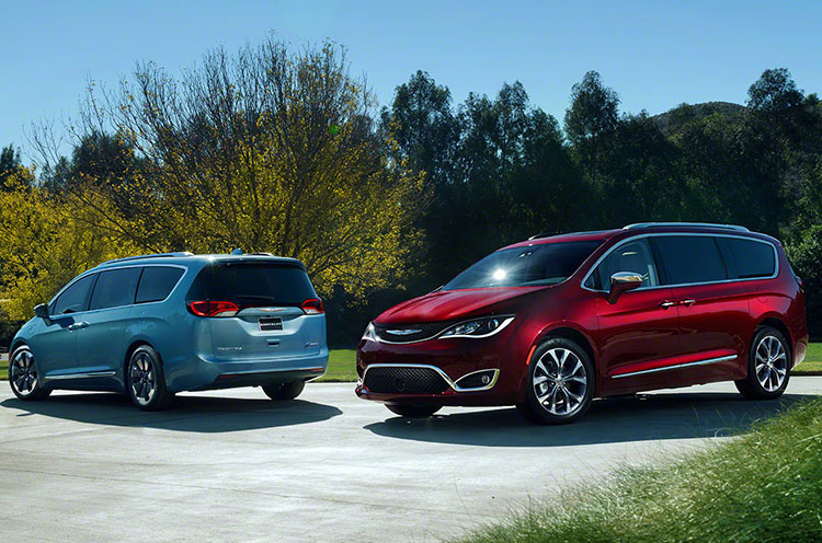 2016 Detroit Auto Show 2017 Chrysler Pacifica To Replace Town Country Get Hybrid Option