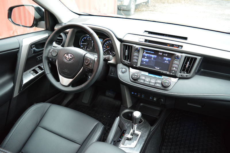 2017 Toyota RAV4 review interior