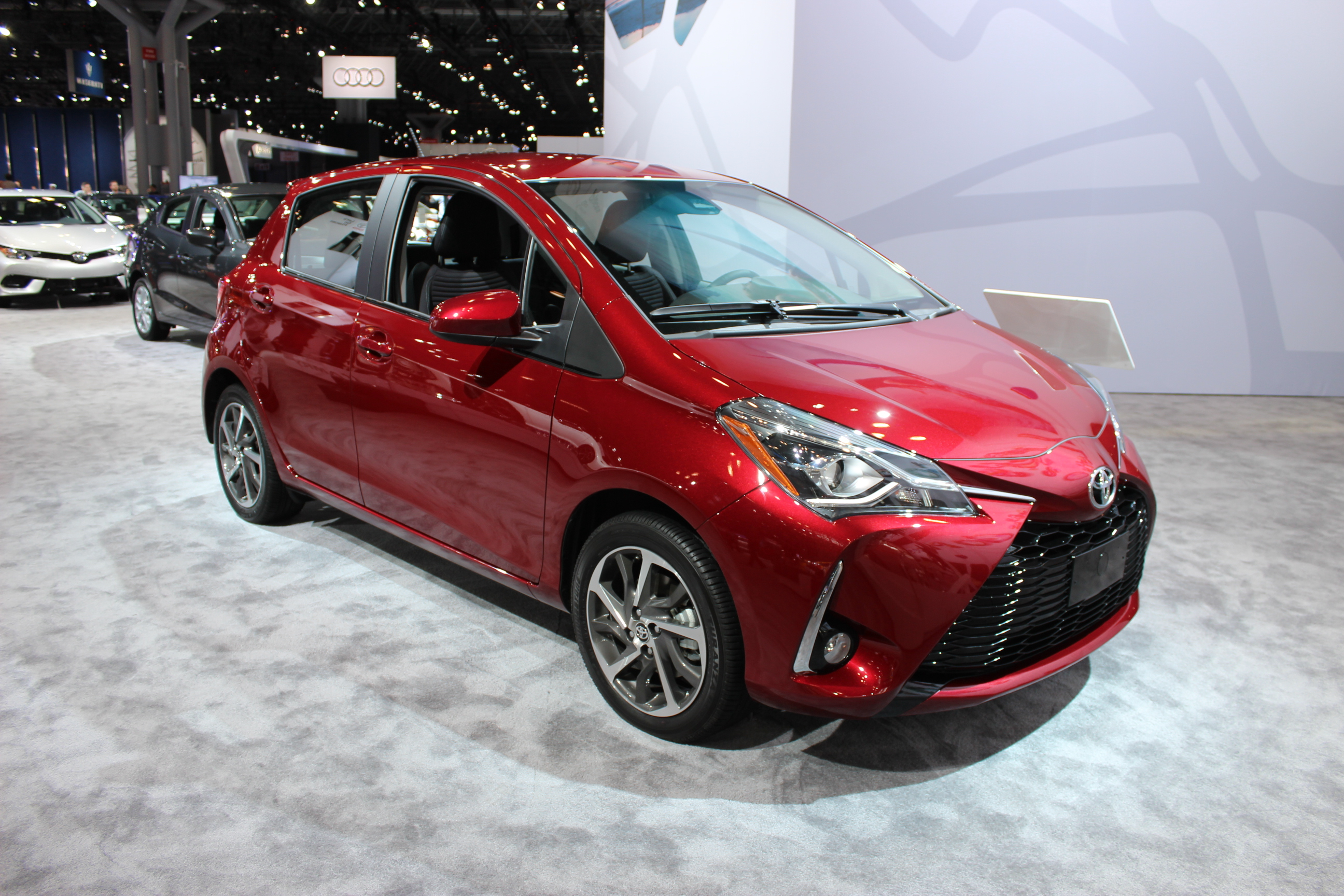 the 2018 toyota yaris debuts in new york ecolodriver. Black Bedroom Furniture Sets. Home Design Ideas