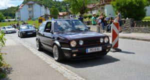 Volkswagen GTI MK2 purple