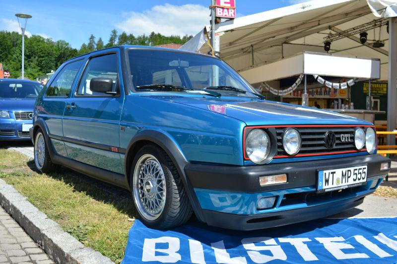 Volkswagen Golf GTI blue blue