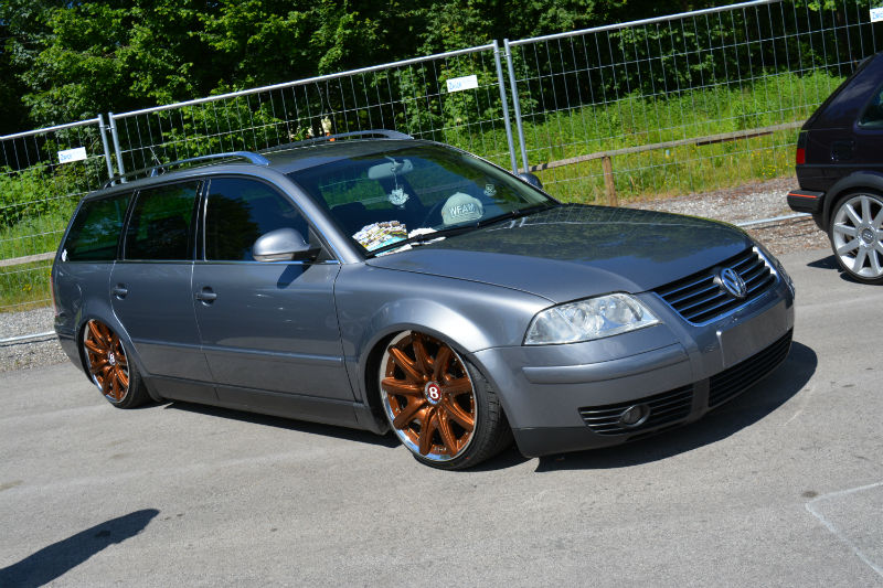 Volkswagen Passat B5 grey