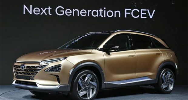 Hyundai fuel cell vehicle