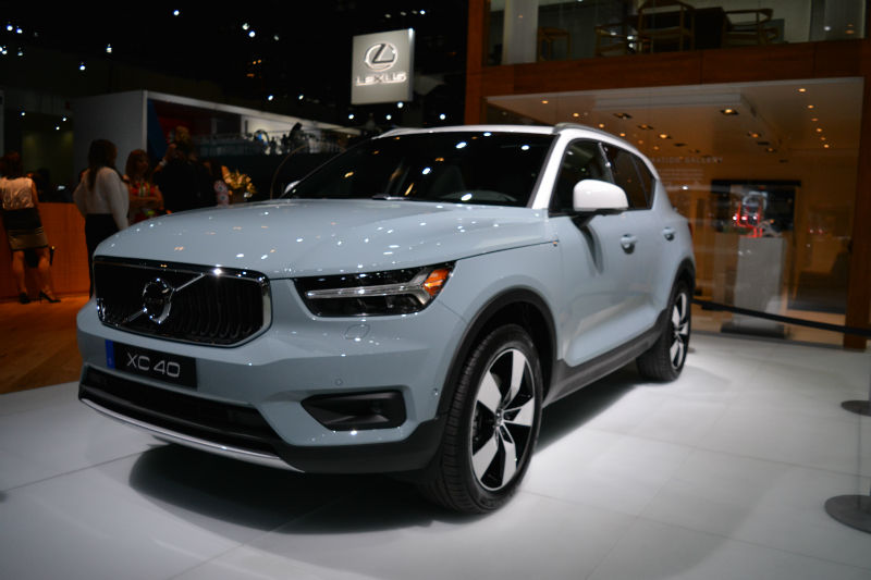 the 2019 volvo xc40 smart sized luxury and styling ecolodriver. Black Bedroom Furniture Sets. Home Design Ideas