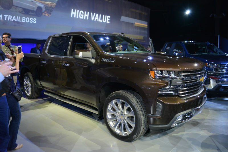2019 Chevrolet Silverado at the 2018 North American ...