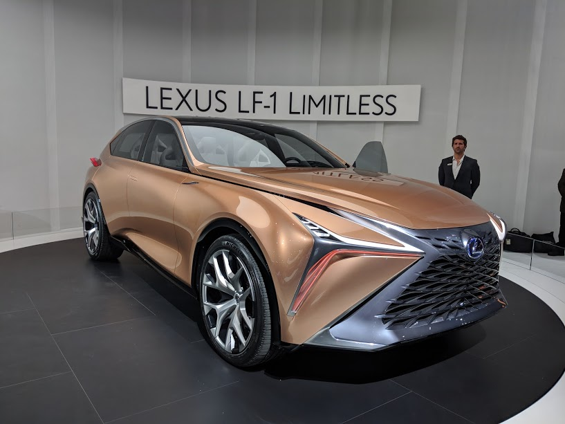 the lexus lf 1 limitless is born in detroit ecolodriver. Black Bedroom Furniture Sets. Home Design Ideas