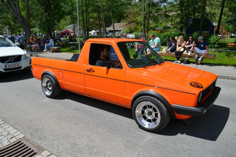 Volkswagen Caddy orange