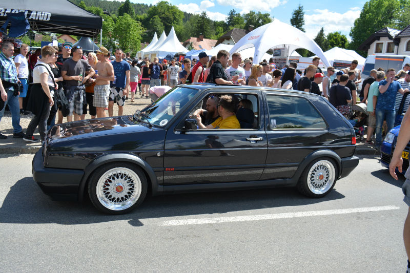 Volkswagen Golf GTI blue