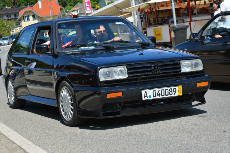 Volkswagen Rallye Golf black
